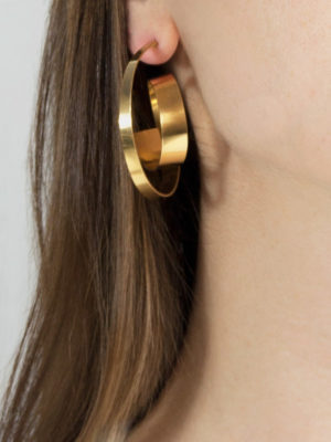 Montaigne earring Medium yellow vermeil