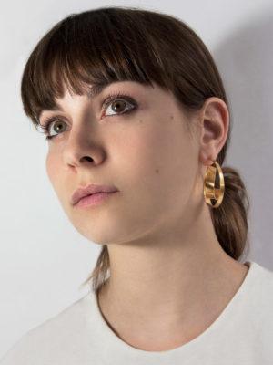 Montaigne earrings vermeil Medium