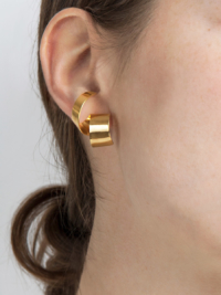 Lepic earring yellow vermeil