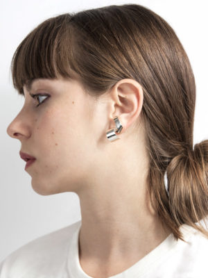 Lepic earring silver