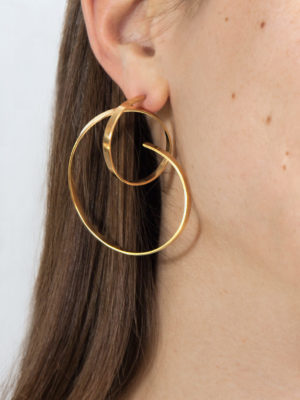 Isa earring yellow vermeil one size
