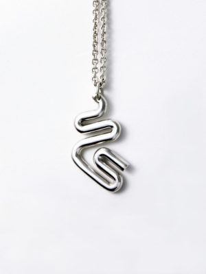 Jazz pendant silver for men and women