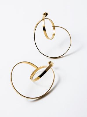 Isa earrings vermeil