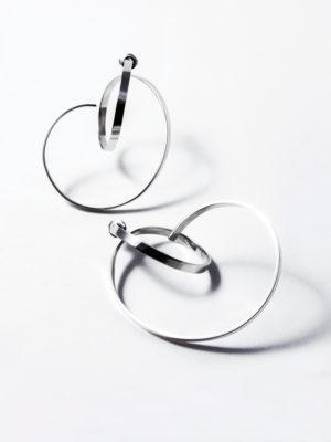 Isa earrings silver