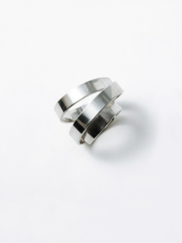 Spring ring silver for men and women