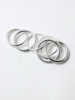 Chain R7 ring silver for men and women