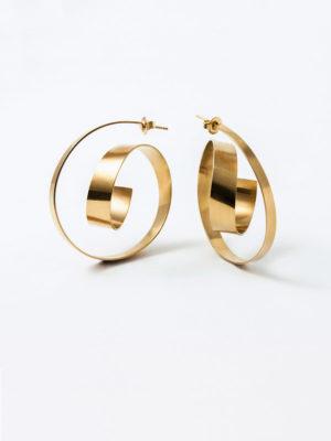 Montaigne earrings yellow vermeil