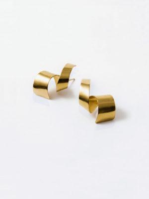 Lepic earrings yellow vermeil