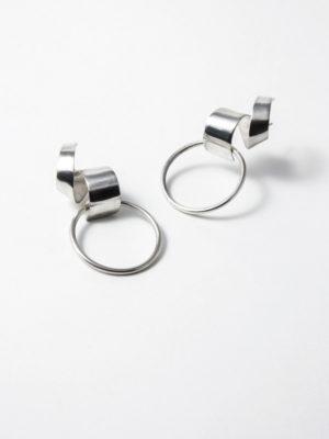 Lepic & Loop Small earrings silver