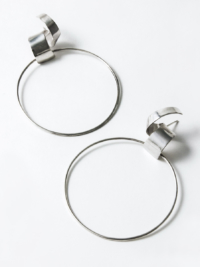 Lepic & Loop Large earrings silver