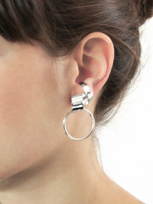 Lepic & Loop Small earring silver
