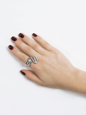 Jazz ring silver
