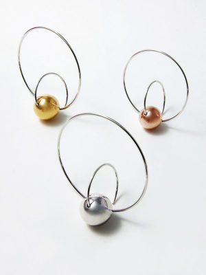 3 versions Satellite Earrings