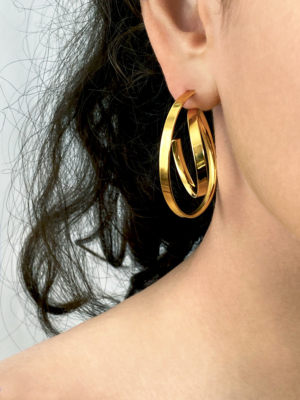Montmartre earrings vermeil