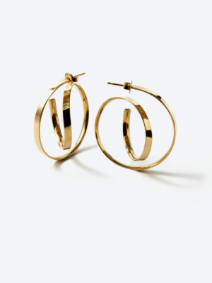 Montmartre earrings yellow vermeil