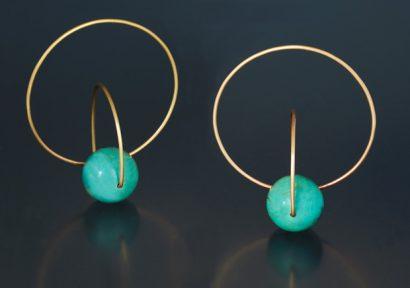Satellite-Earrings 2007